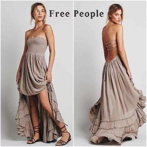NWOT Free People Extratropical Maxi Dress XS